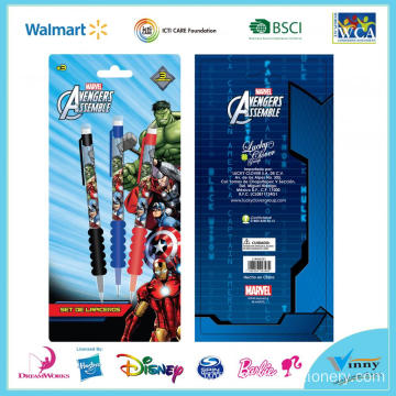 Avengers 3 Piece Mechanical Pencil with Grip