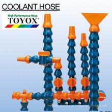 Manguera de refrigeración para lubrificación y refrigeración de la máquina procesadora de metales. Fabricado por Toyox. Hecho en Japón (manguera de enfriamiento)
