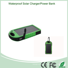5000mAh Outdoor Portable Solar Charger with LED Light (SC-01-6)
