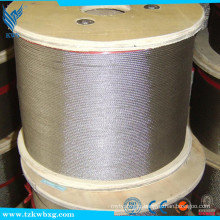 ASTM A582 AISI321 fil de soudure en acier inoxydable brillant et décapé