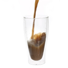 Double Layered Borosilicate Glasses For coffee
