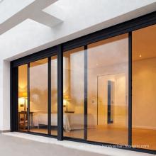 Aluminum sliding door system