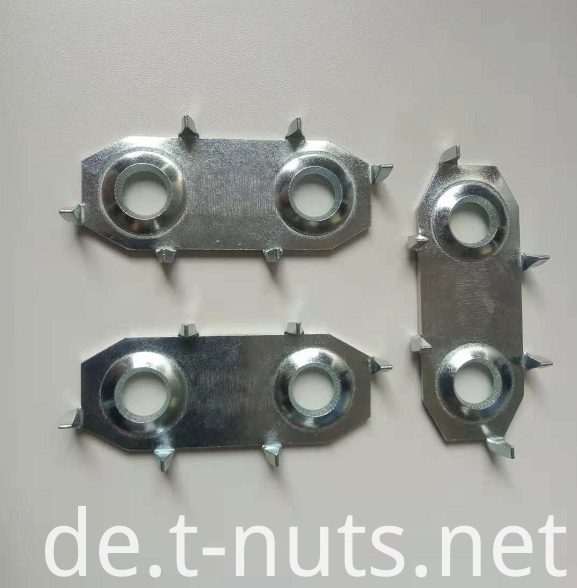 Oval Zinc Plated Nuts