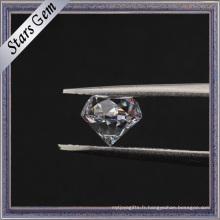 Wuzhou Fabricant Round Star Cut 40% Zircone cubique lourde
