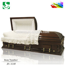 JS-A145 best price good quality caskets made in china