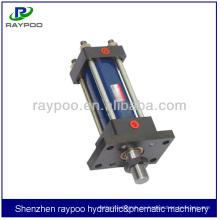 China HOB serie Doble efecto de cilindro hidráulico transversal para la máquina de placa de espuma
