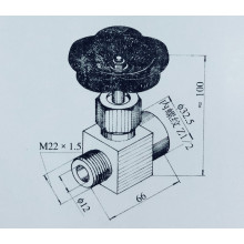 QSF-12 needle valve locking switch