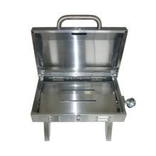 Grade de gás portátil de mesa de aço inoxidável