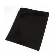 logotipo blanco que imprime el bolso tejido con cordón al por mayor