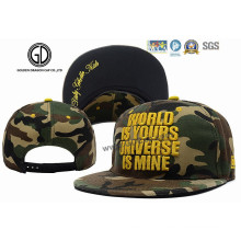 Top Quality 2016 Verde Camo Basketball Snapback Cap com Bordado
