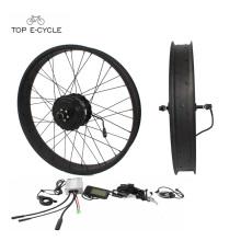 Bon marché et bon vélo électrique 48V 500W kit de conversion pour gros pneu ebike