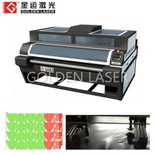 Dual Head Leather Laser Cutter for Shoe Upper