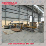 Full Automatic 4*8Ft Building Templates Plywood Edge Cutting Saw Machine