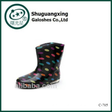 Favorable Crystal Cute Rain Boots Waterproof Student Shoes with Jelly Chilren Rain Boots for Sale C-705