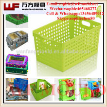 China supply quality products plastic laundry basket mould/plastic laundry basket mold manufacturing in China