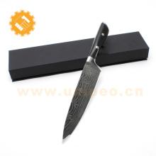 Meilleure vente Amazon 12 Pcs en acier inoxydable Damascus Cuisine Set Couteau