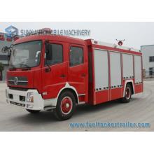 Dongfeng 6000L 4 * 2 Wasser und Schaum Tank Feuerwehrauto