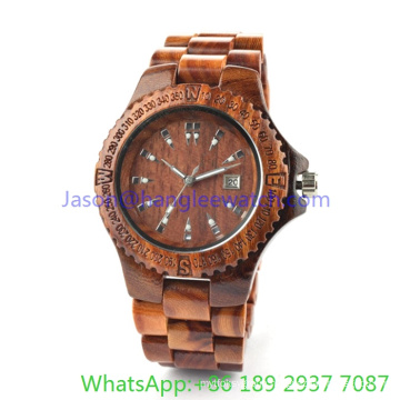 Hot Fashion Wooden Watch, Best Quality Watch Ja- 15102