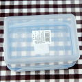 récipient de compartiment de nourriture en plastique micro-ondes