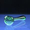 Самая новая стеклянная зеленая ложка для курения с высоким качеством (ES-HP-066)