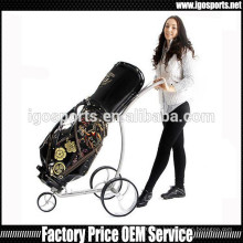 titanium golf trolley