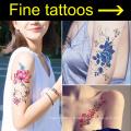 Belles conceptions de tatouage de corps d'épaule de main pour des femmes