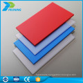 100% virgin bayer raw material lexan 18mm solid flexible polycarbonate translucent roof panel sheet