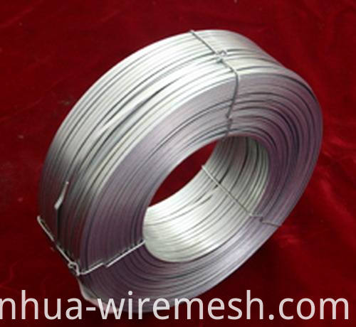 Low Carbon Flat Electro Galvanized Steel Wire (1)