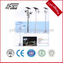 Poste de luz de calle moderno para la energía solar