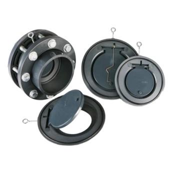 Clapet anti-retour à clapet en pvc standard DIN 3352