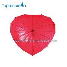 "21"" 16k love umbrella love heart shape umbrella"