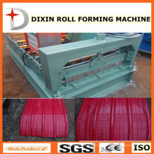 Farbe Stahl Dachblech Crimpen gebogene Maschine