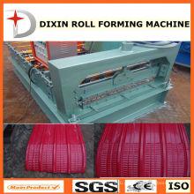 Máquina curvada de corte de folha de telhado de aço colorido