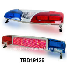 Display Lightbar Police Car Led Light Bar