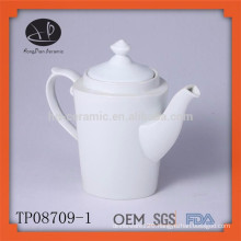 Hot selling white ceramic tea pot set tea infuser