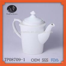 Горячий продавая белый керамический чай pot pot set infuser