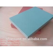 plaque imperméable de celuka de WPC / panneau de mousse de WPC / panneau de mousse de PVC pour la construction