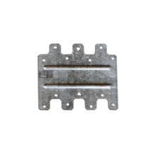 OEM Wide Aluminum Zinc Alloy Plate Side Fastening Sheet Stamping Parts Stamping