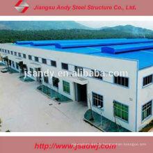Design Low Cost Large Factory Roof Steel Atelier en acier à structure structurale