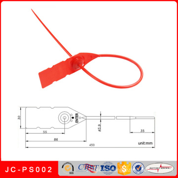 Jc-PS002 Security Plastic Seals for Sealing Trucks, Bank Box, Warehouse, Bags