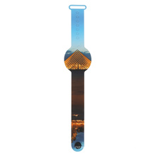 Easy to Read  Soft Silicon Wristwatch Digital Led Watch for Kids