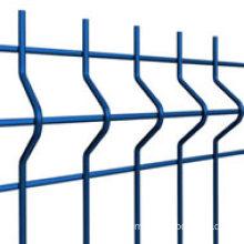 2014 Top-Selling Powder Coated Curvy Welded Metal Fence