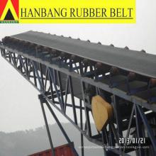 Chevron outdoor conveyor belt