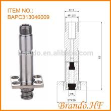 Conjunto de armadura para válvula solenóide de automóvel