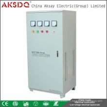 TNS Trois phases Haute précision AVR 75kw 380V Stabilisateur de tension à domicile Chine Wenzhou