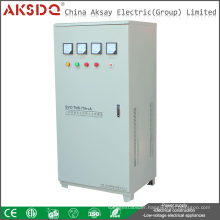 SVC Series 3 Phase Servo Motor and Copper Coil Type Automatic Compensated Power AC Voltage Stabilizer Regulator Transformer