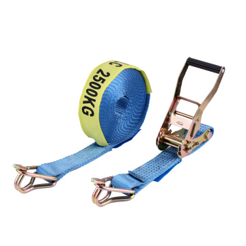 Standard australijski! 7500KGS Polyester With Swan Hook 50MM Ratchet Tie Down Strap