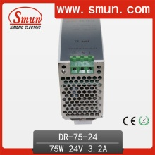 75W24V3a Dinrail Single Output Switching Power Supply
