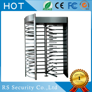 Single Channel Full Height Turnstiles Security Barrier