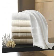 5 Star Hotel 100 Cotton Waffle Design Bath Towel